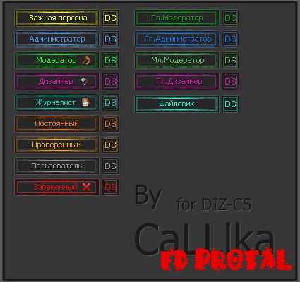 набор иконок для форума ucoz: